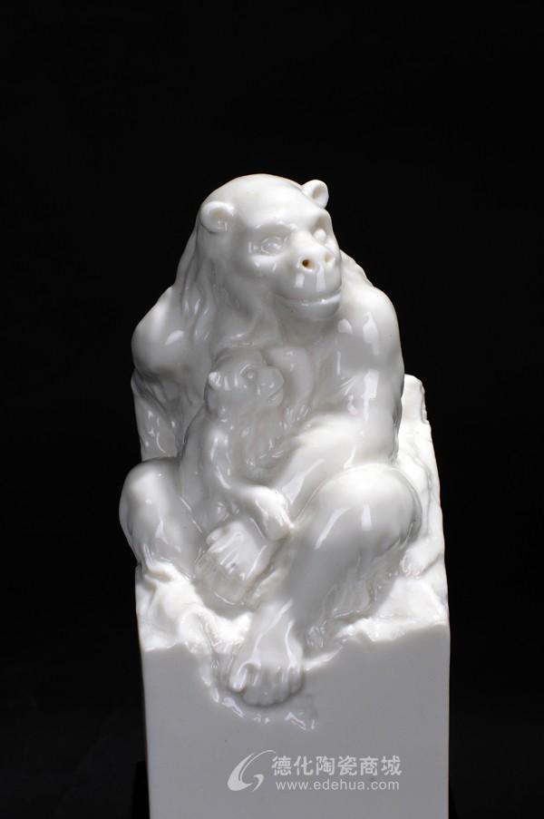 生肖猴,定做批发,动物艺术,工艺陶瓷--德化陶瓷商城