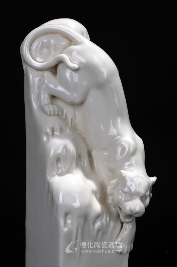 生肖虎,定做批发,动物艺术,工艺陶瓷--德化陶瓷商城